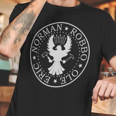Ramones Spoof: Eric, Norman, Robbo, Ole