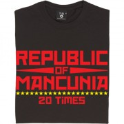 "Republic of Mancunia ""20 Times"" T-Shirt"