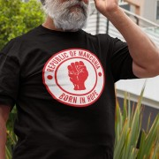"Republic of Mancunia ""Born In Hope"" T-Shirt"