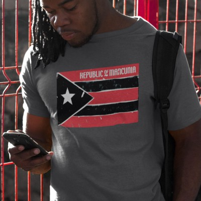Republic Of Mancunia Cuba Flag