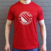 Republic of Mancunia Three Stripes T-Shirt