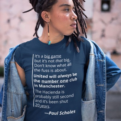 "Paul Scholes ""Big Game"" Quote"