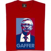 "Sir Alex Ferguson ""Gaffer"" T-Shirt"