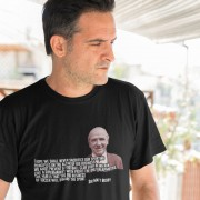 "Sir Matt Busby ""Principles"" Quote T-Shirt"