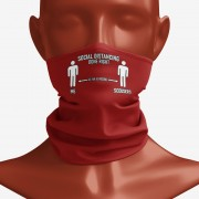Social Distancing Done Right (Scousers) Snood