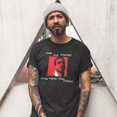"Eric Cantona ""Some Are Created"" T-Shirt"