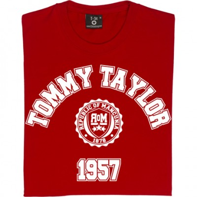 Tommy Taylor 1957