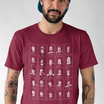 The Manchester United Alphabet T-Shirt