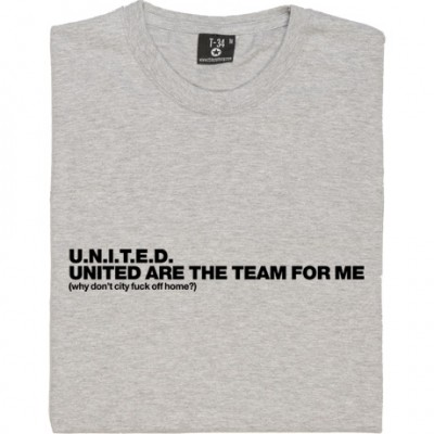 United Are the Team For Me