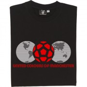 United Colours Of Manchester (Globes) T-Shirt