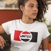 United Logo Red, White and Black T-Shirt