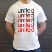 United: Red, White and Black T-Shirt