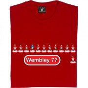 United Table Football 1977 FA Cup Final T-Shirt