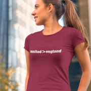 United Are Greater Than England T-Shirt
