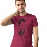 """Vidic """"If He Dies, He Dies"""" T-Shirt"""