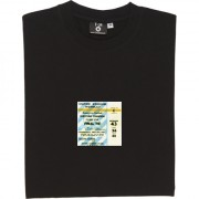 Wembley 1968 European Cup Final Ticket T-Shirt