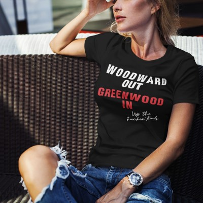 Woodward Out; Greenwood In