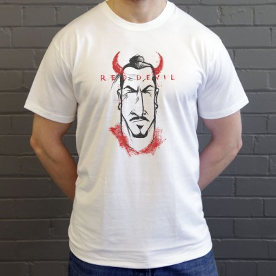 "Zlatan ""Red Devil"" Caricature"