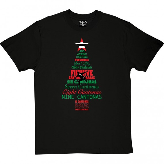 The Twelve Days of Cantona T-Shirt
