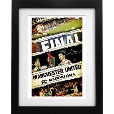 1991 European Winners Cup Final Collage Art Print