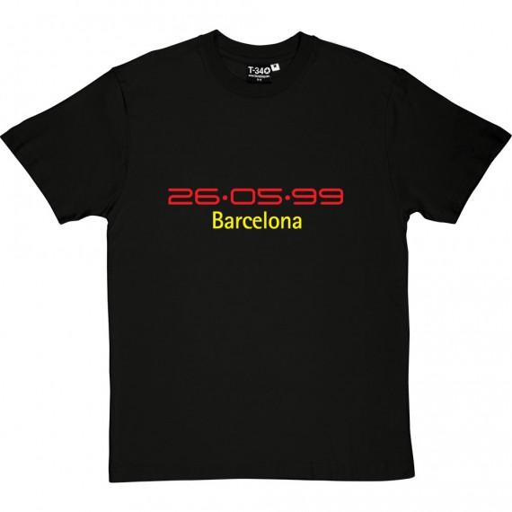 Barcelona 26/05/99 T-Shirt