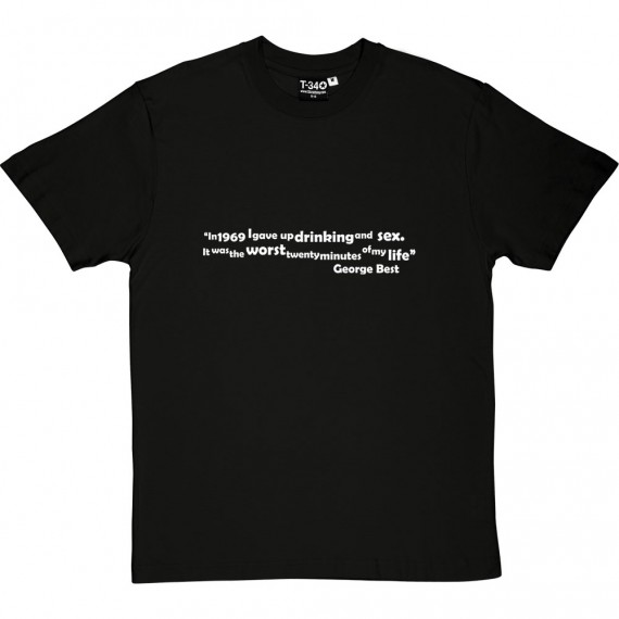 "Best ""Drinking and Sex"" Quote T-Shirt"
