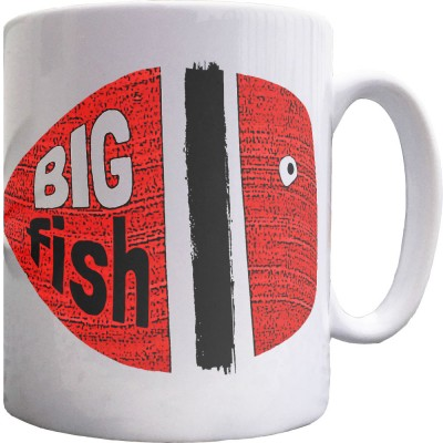 Big Fish, Little Fish Ceramic Mug