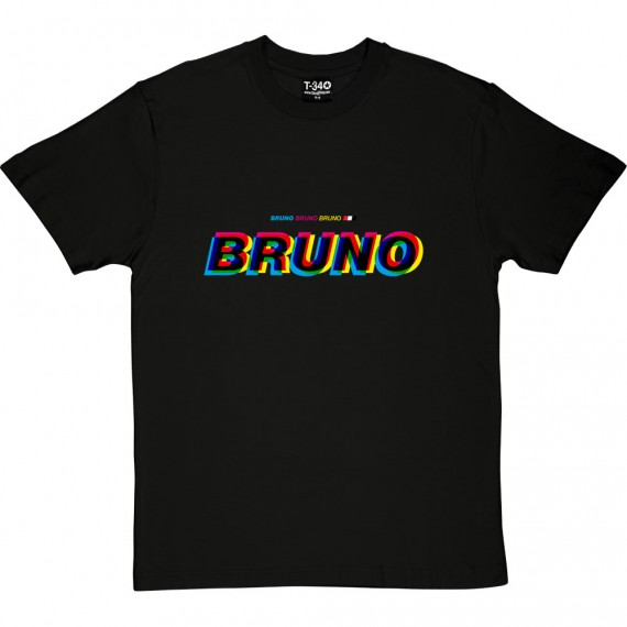 Bruno Bruno Bruno (Multicolour) T-Shirt