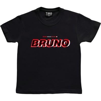 Bruno Bruno Bruno (Red, White and Black)