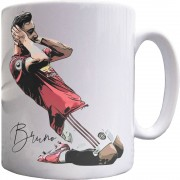 Bruno Fernandes Celebration Ceramic Mug
