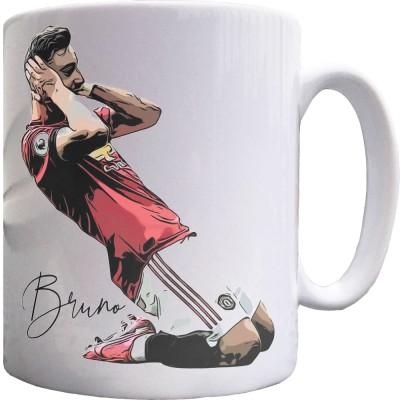 Bruno Fernandes Celebration Ceramic Mug