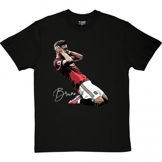 Bruno Fernandes Celebration T-Shirt