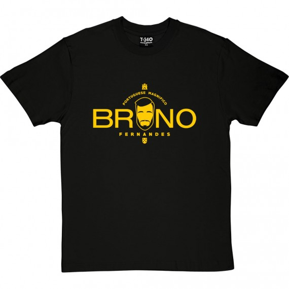 "Bruno Fernandes ""Portuguese Magnifico"" T-Shirt"
