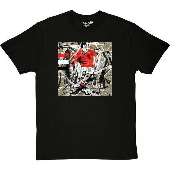 Bryan Robson Splash T-Shirt