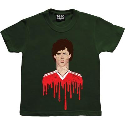 Bryan Robson United Kit Graphic Portrait