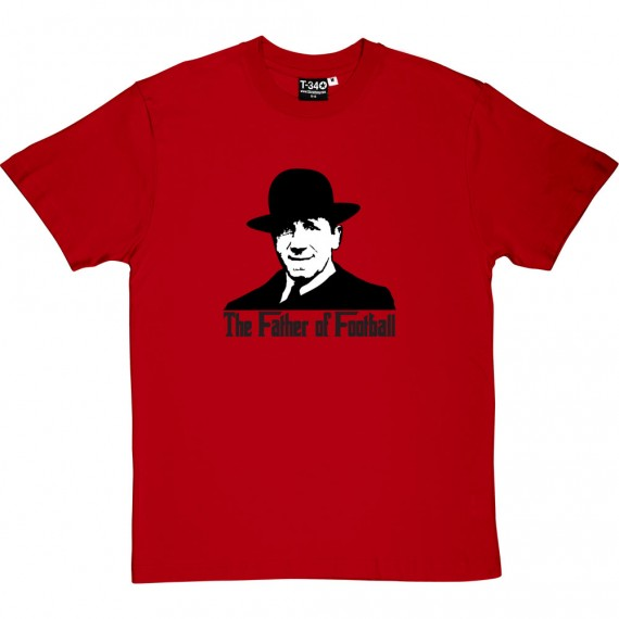 Sir Matt Busby: Father of Football T-Shirt