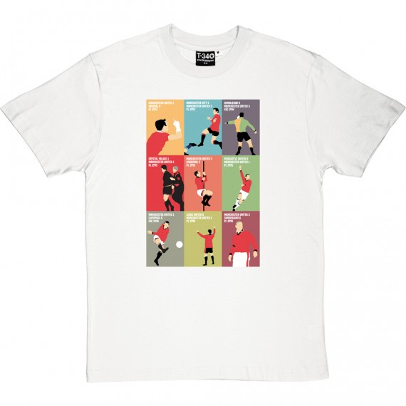 "Eric Cantona ""9 Moments"" T-Shirt"