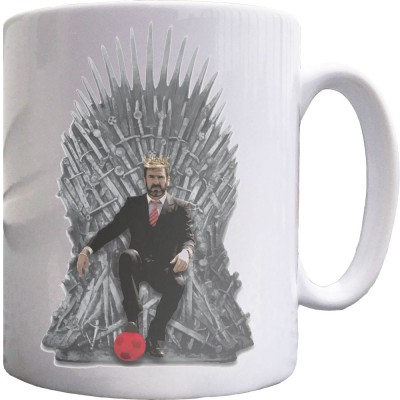 Eric Cantona Iron Throne Ceramic Mug