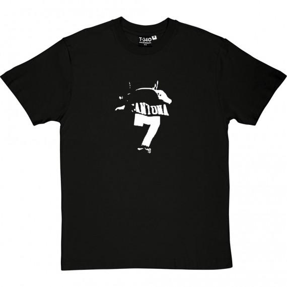Eric Cantona Back T-Shirt