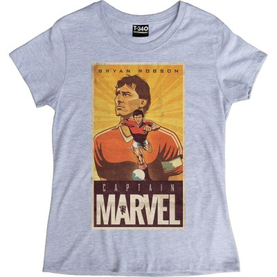 Bryan Robson: Captain Marvel