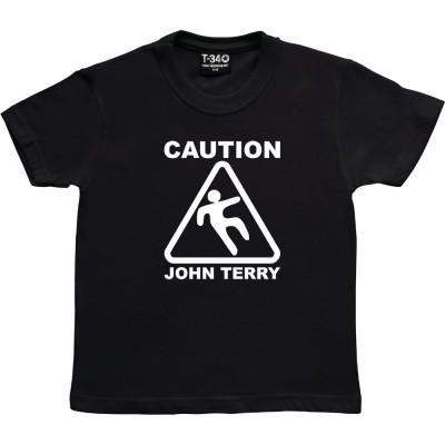 Caution: John Terry