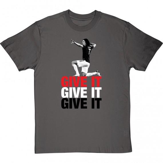 "Edinson Cavani ""Give It"" T-Shirt"