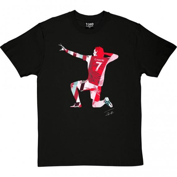 Edinson Cavani Red T-Shirt