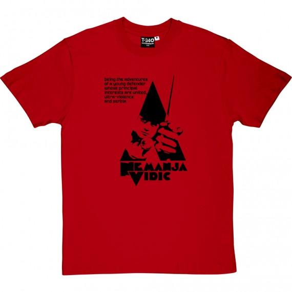 Nemanja Vidic Clockwork T-Shirt