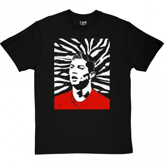 Cristiano Ronaldo Woodcut T-Shirt