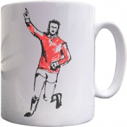 Denis Law Sketch Ceramic Mug