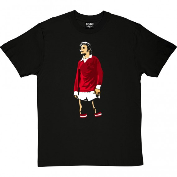 Denis (Red, White, and Black) T-Shirt