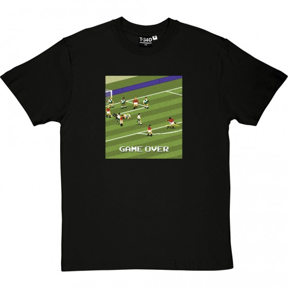 "Eric Cantona 1996 ""Game Over"" T-Shirt"