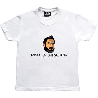 "Eric Cantona ""Apology"""