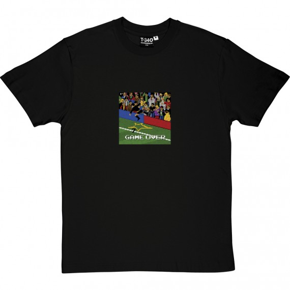 "Eric Cantona ""Game Over"" 1995 T-Shirt"